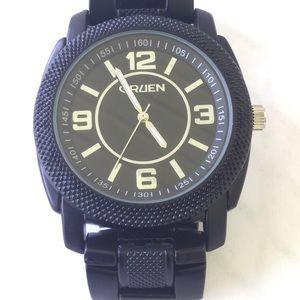Other - Gruen Black Men's Watch